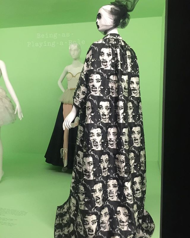 "More from ""Camp: Notes in Fashion "" exhibit the Met. #nyc #art #fashion #design"