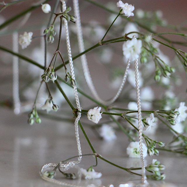A silver chain #svgjewellery