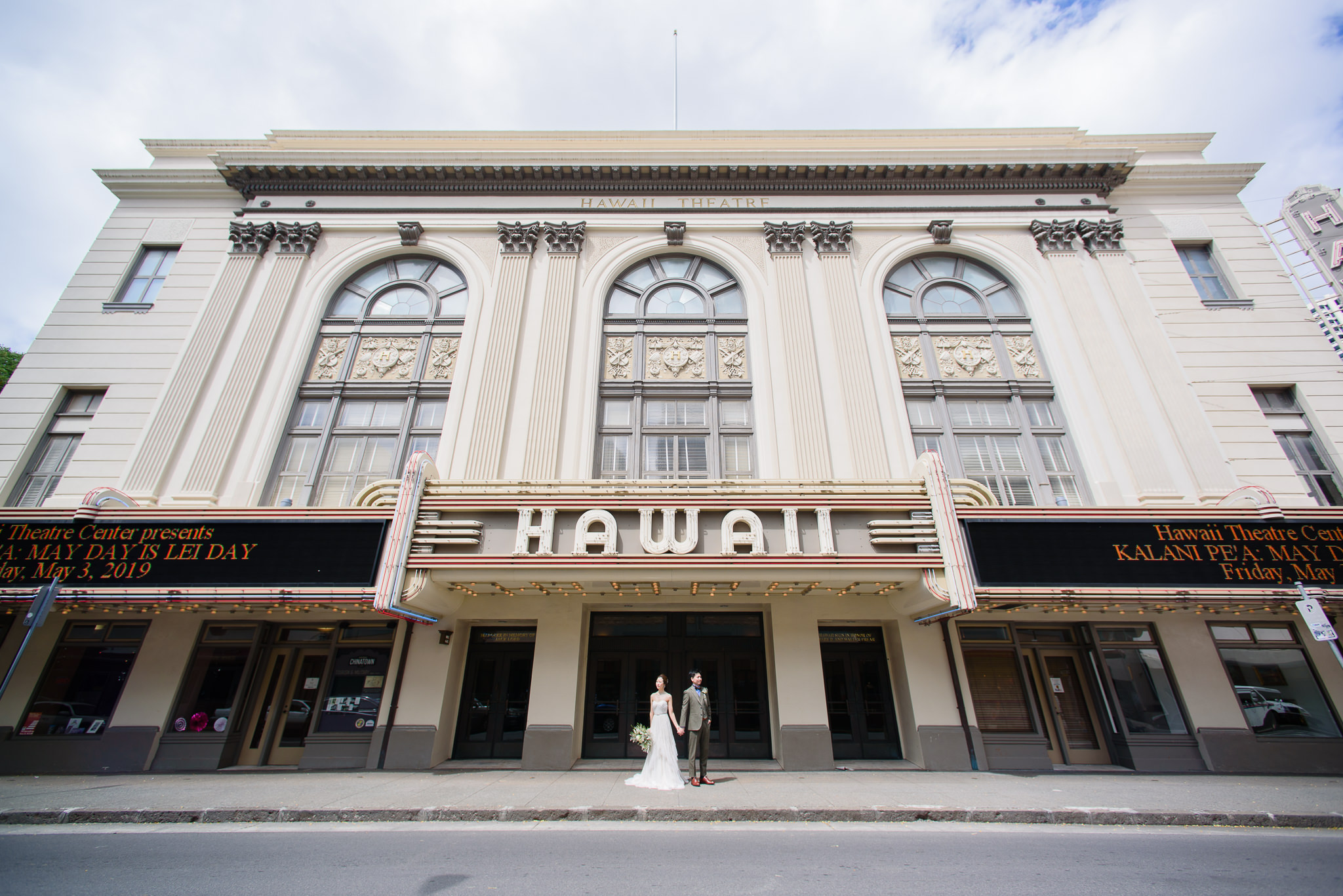 The historic Hawaii Theatre