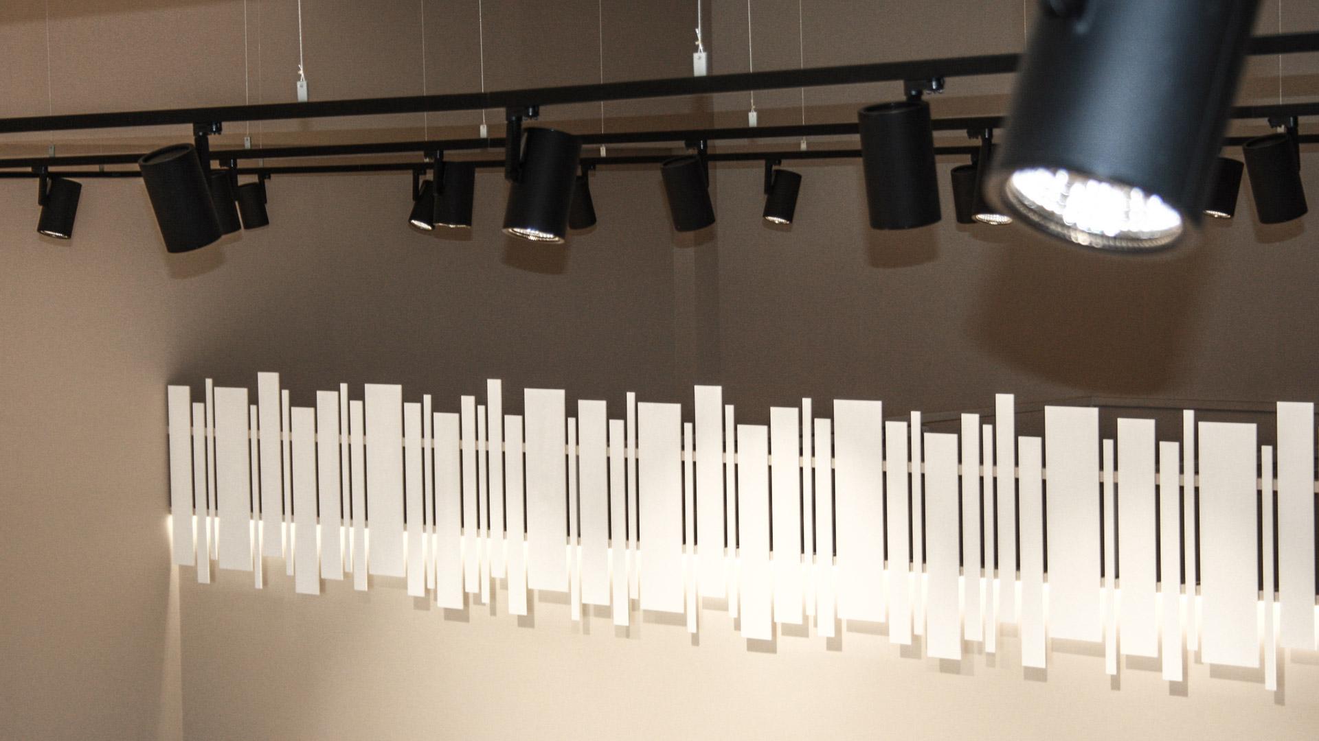 Illuminazione Showroom