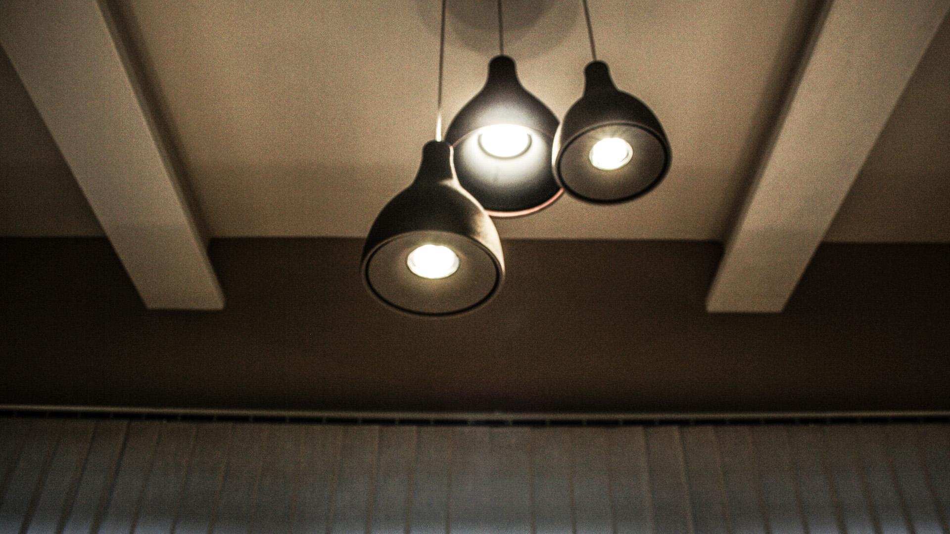 Particolari illuminazione uffici