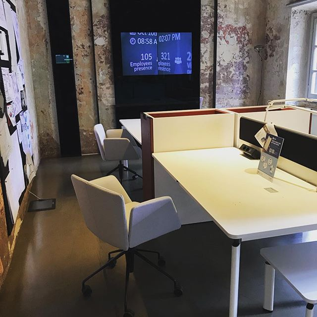 Good morning! #milano #ufficio #interiordesign #office #fuorisalone2019 #idee #novità #contractor #design #officelayout @tecnospa
