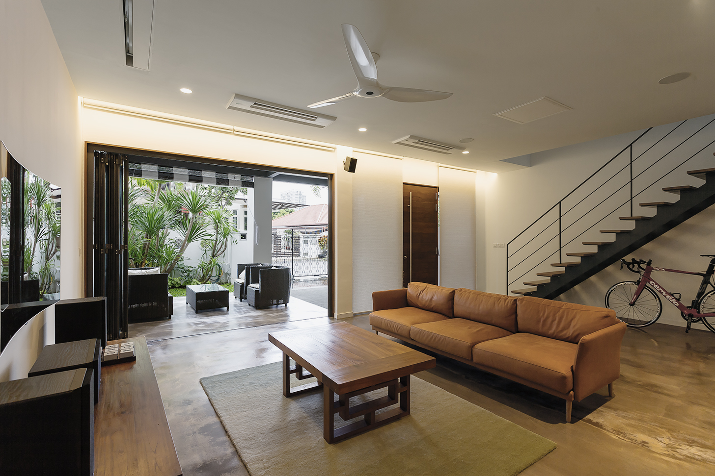 Living room of Terrace House at Joo Chiat