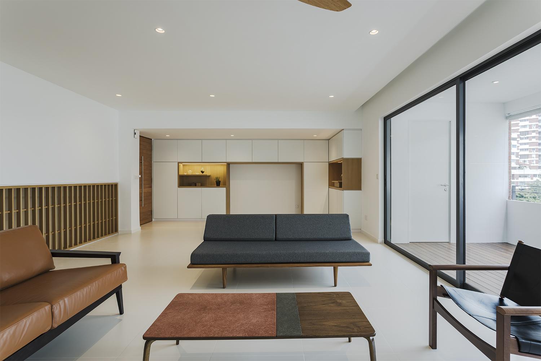 Living room of Pandan Valley Condominium