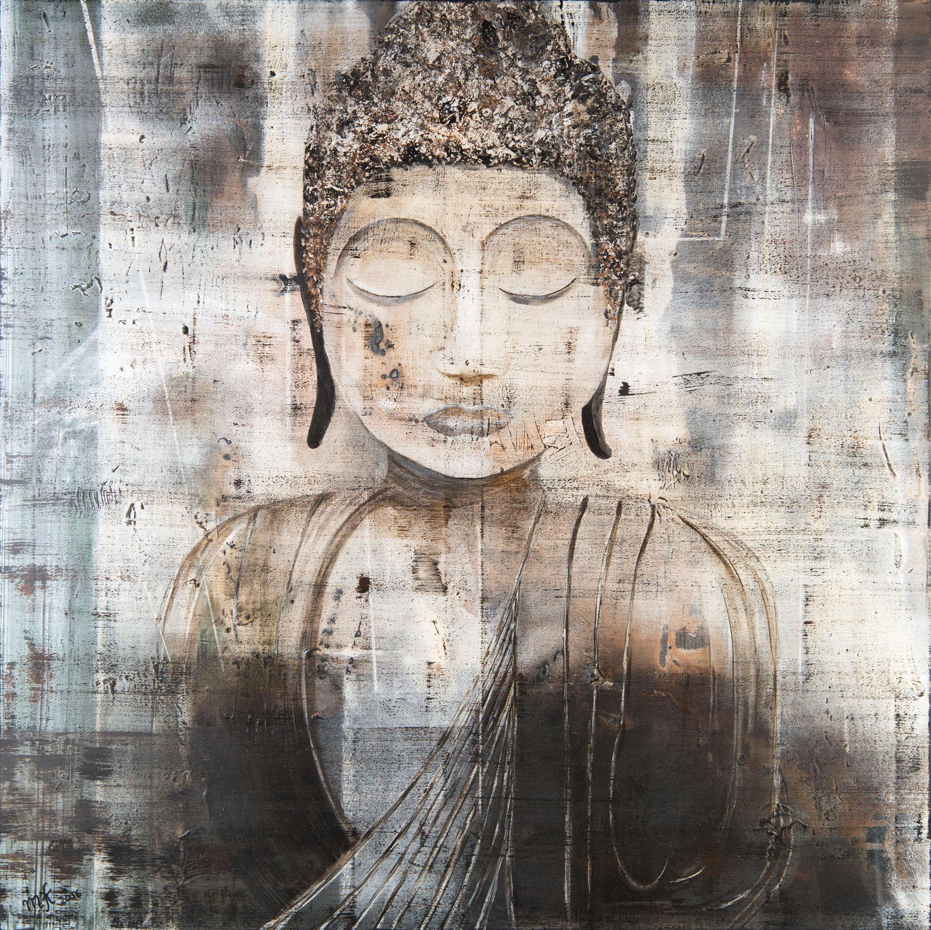Buddha  100 x 100 cm, 2016