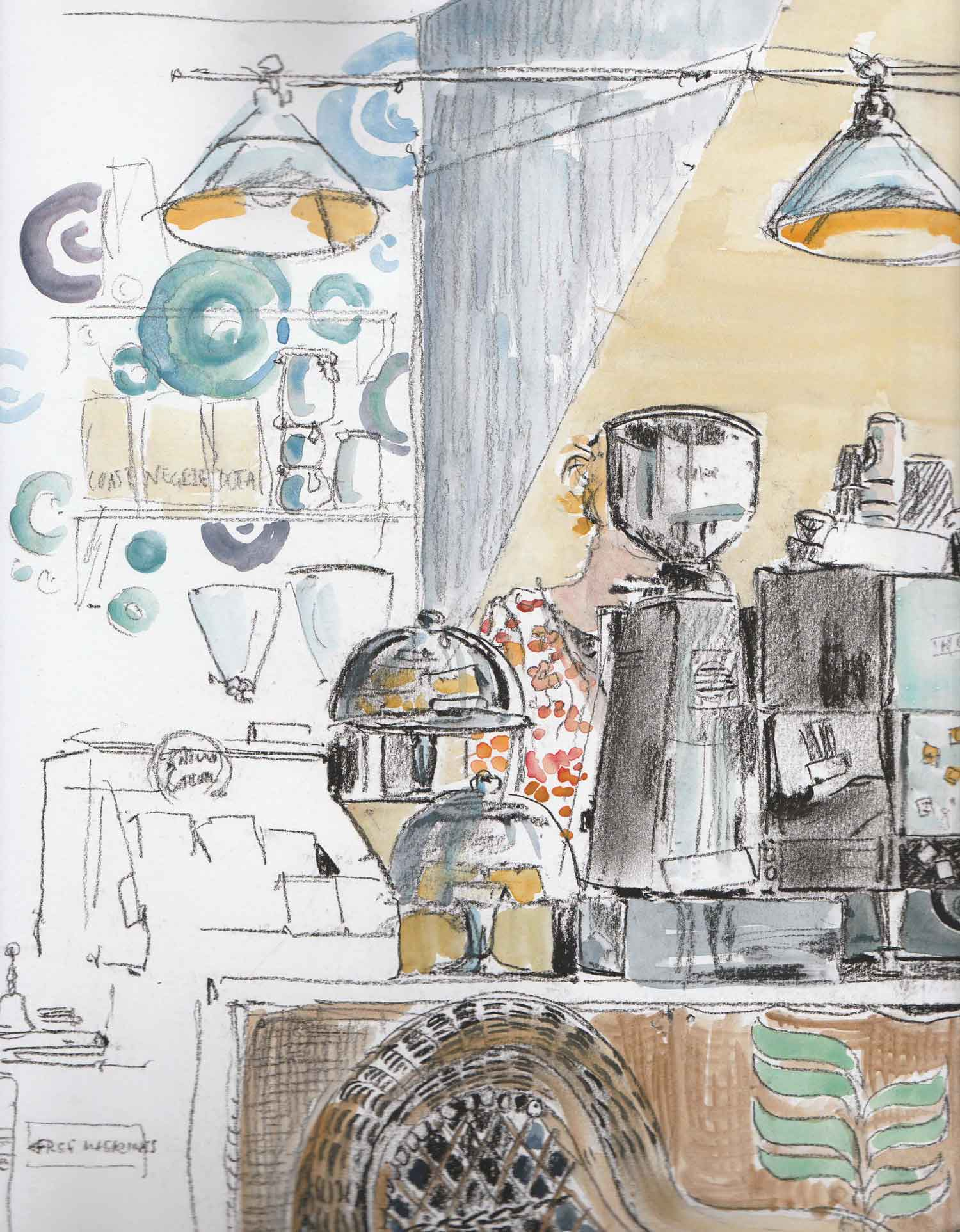 Heroes & Idols Coffee Shop, Lyme Regis