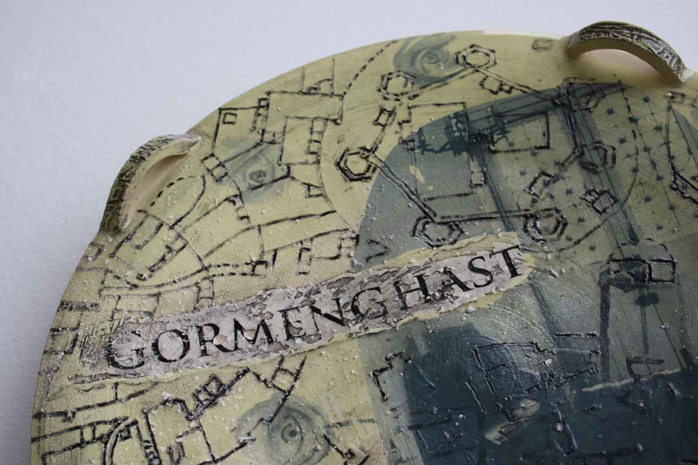 Gormenghast plate