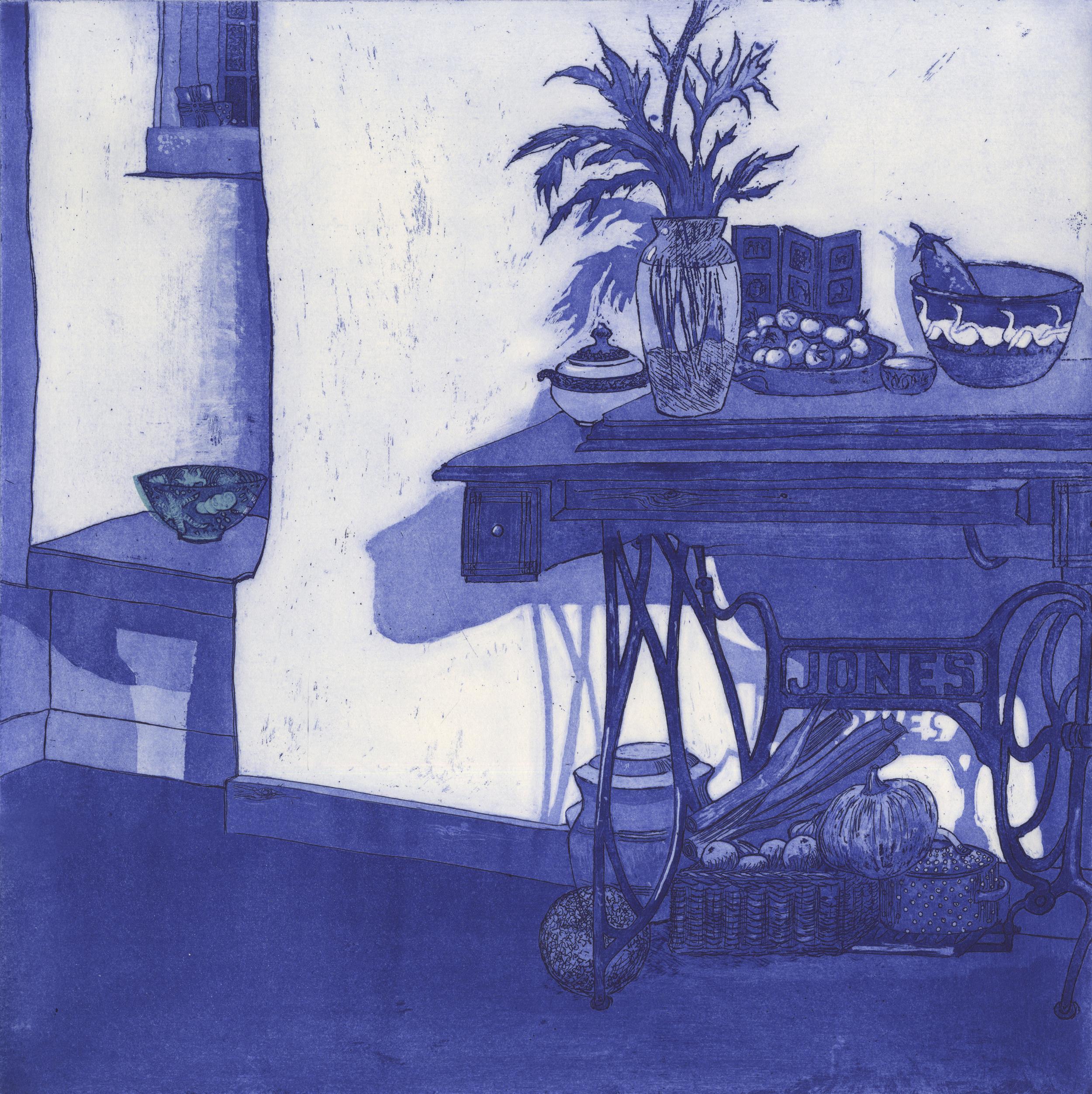 The Blue Bowl
