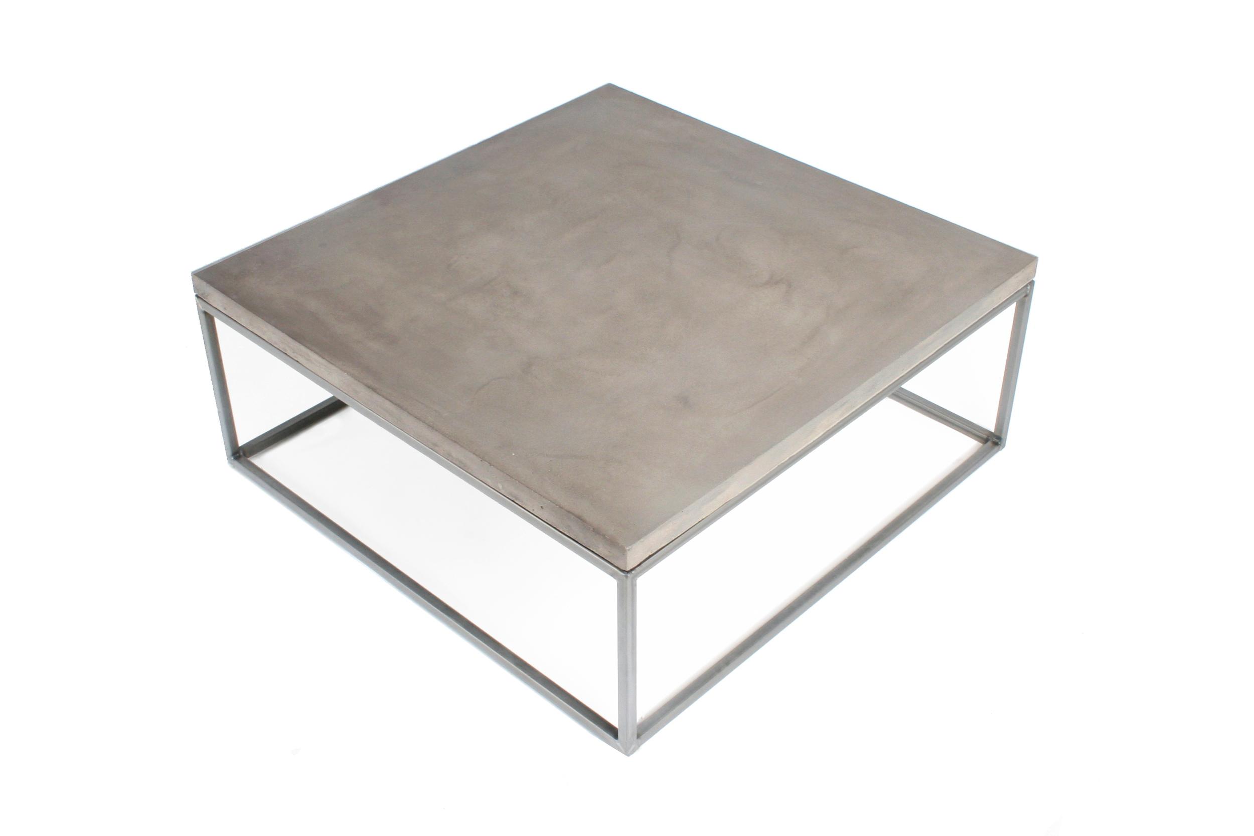 New Perspective Concrete Coffee Table Tin Design