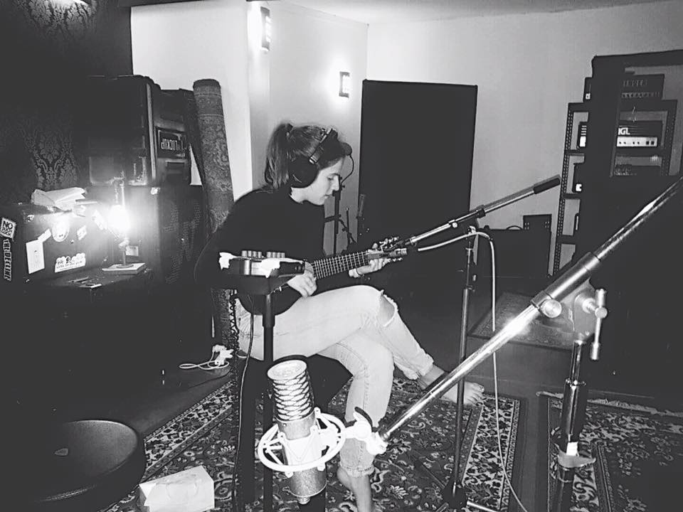 Recording in Def Wolf Studios