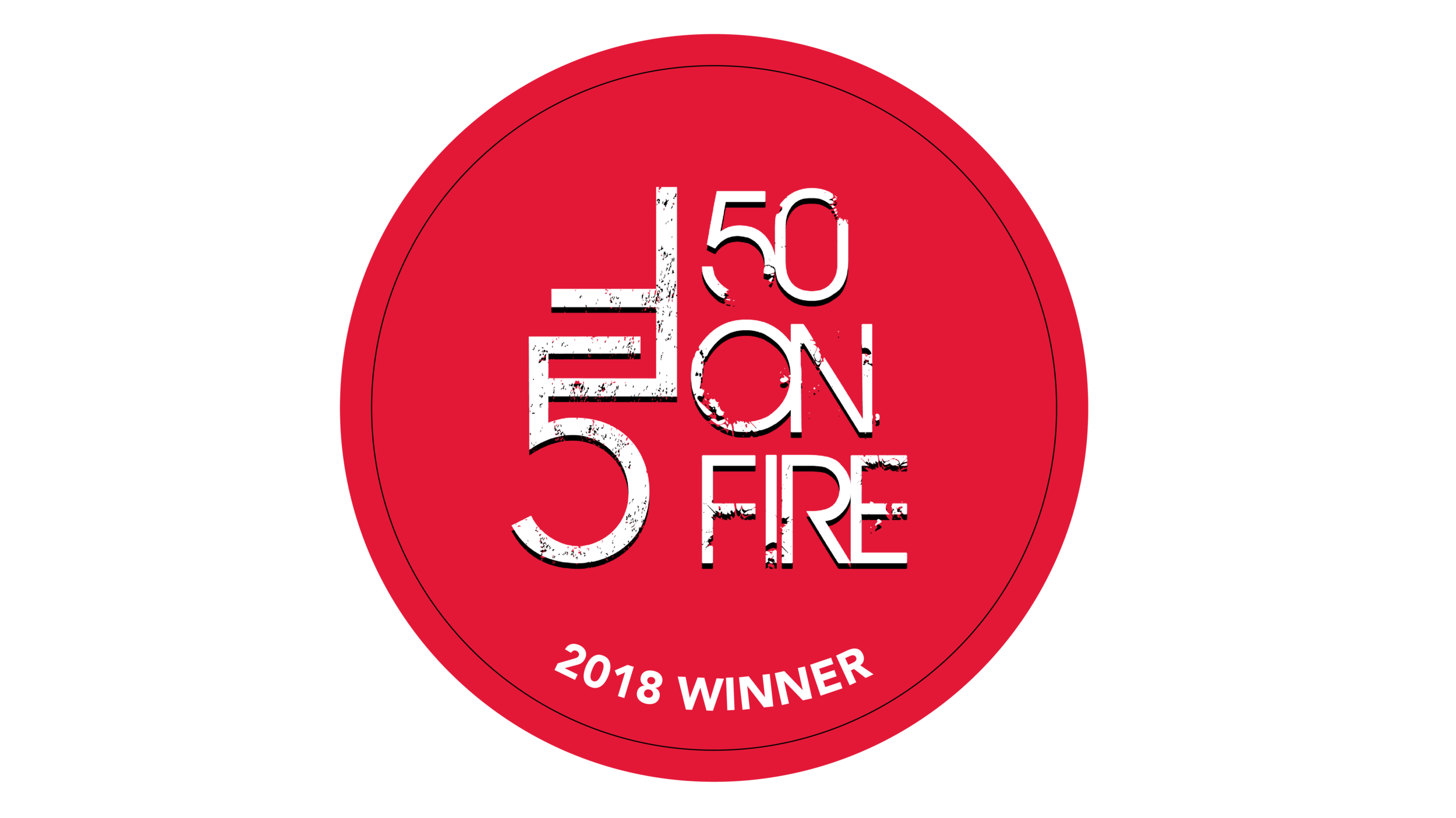 50 on Fire Logo