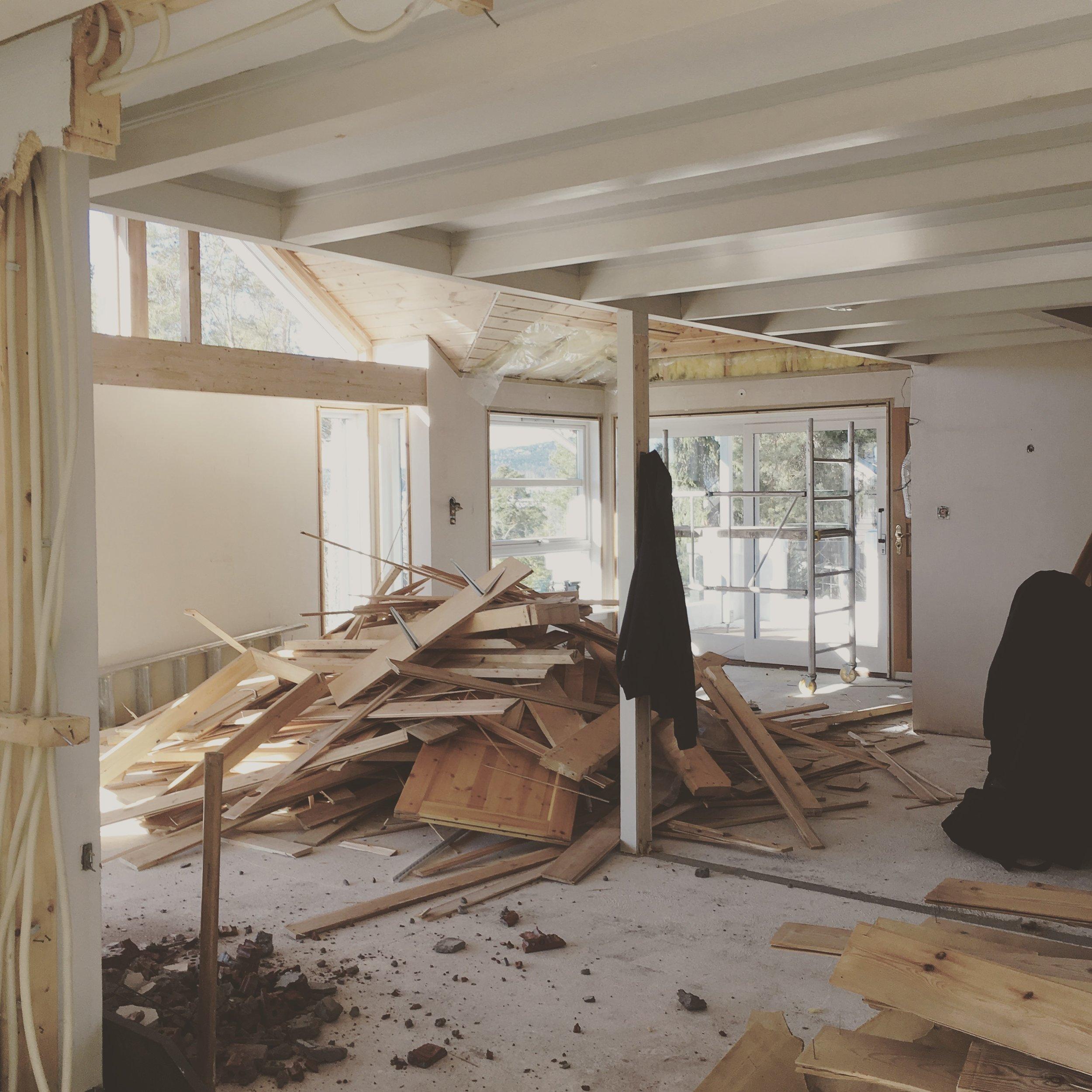 3/2017 - Byggeplass - dag 1
