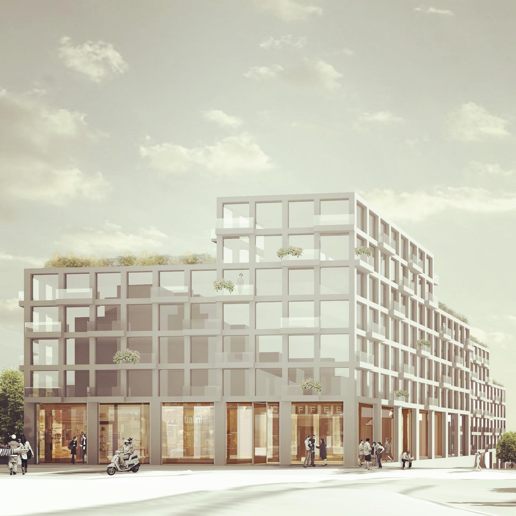 4/2017 - Skisseforslag til et spennende prosjekt på Sinsen - første fase av planarbeidet er i gang :D