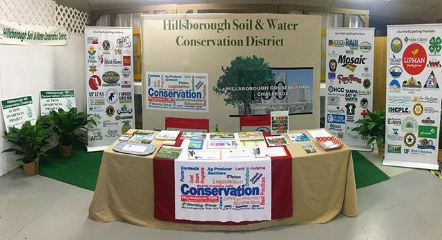 Find us in the @flstatefair Agriculture Hall of Fame, adjacent to this years' Florida Farm-to-School Arcade 🍅👾🍊🚀 @freshfromflorida 🌿NRCS and HSWCD staff will be here throughout the duration of the fair to answer questions and provide you with information on our MANY conservation and youth programs; just ask!