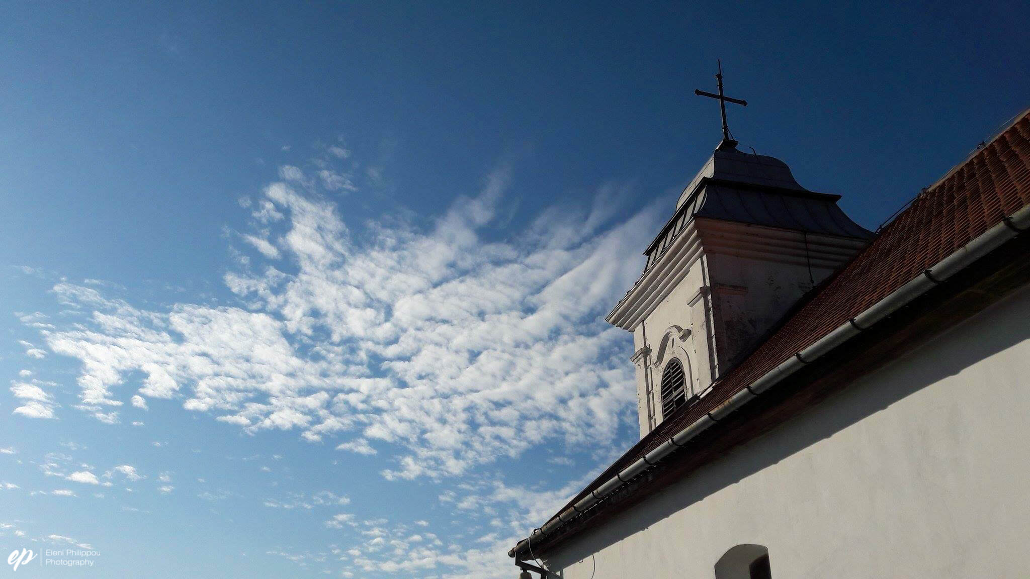 Orthodox Christianity is the main religion of Serbia. Photo taken en route to the tower