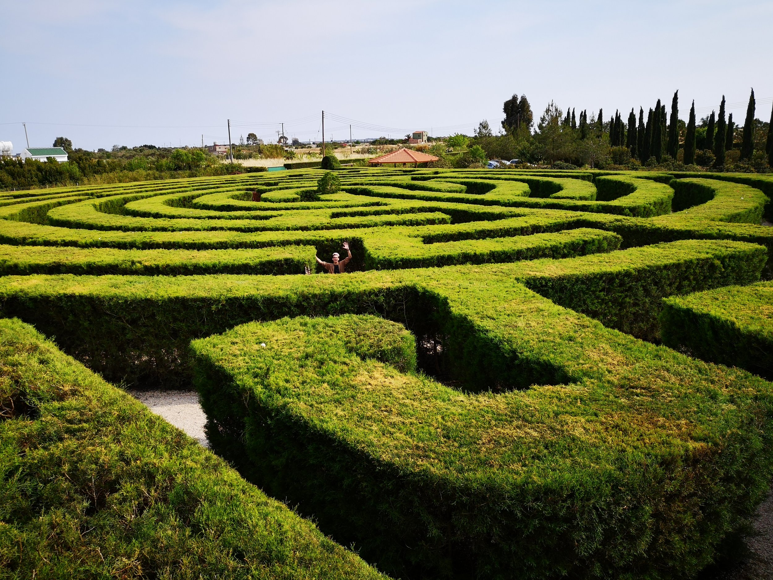 Lose yourself in the CyHerbia's green maze| © CyHerbia