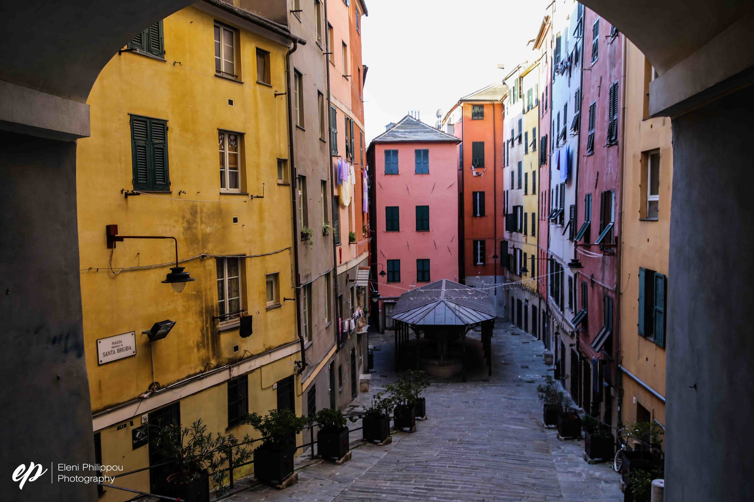 Finding Genova's colourful alleys