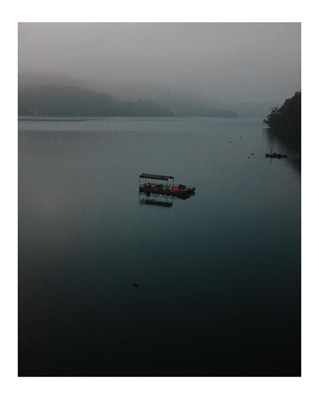 Dawn at Sun Moon Lake, Taiwan