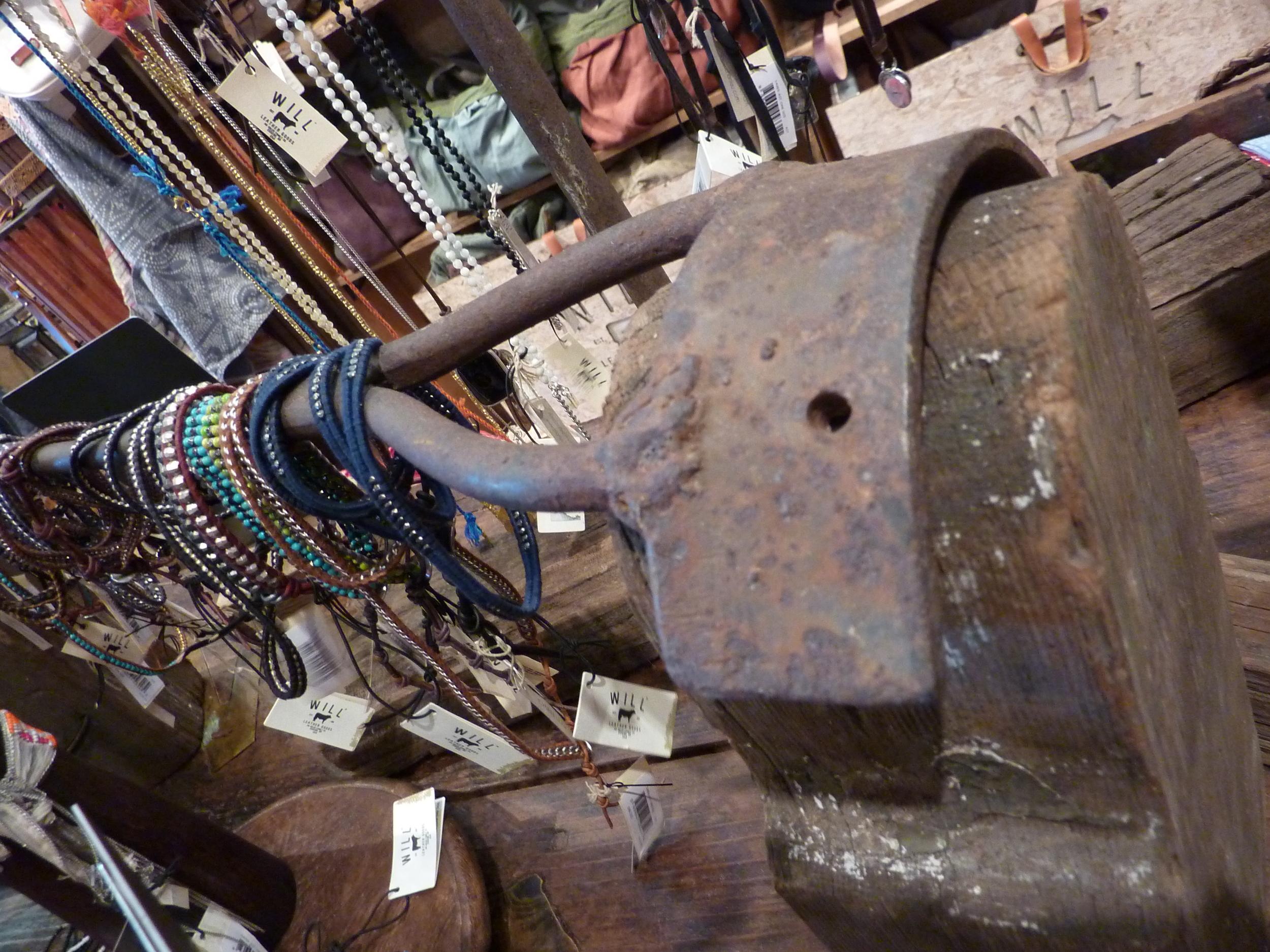 photo | branding iron jewelry fixture