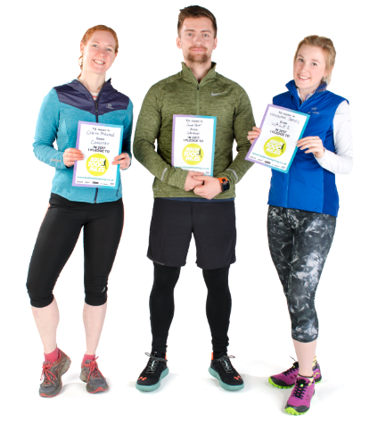 We practice what we preach! Team Trail Running's editor Claire, staff writer Jack and gear editor Hannah have all signed up for their fittest year ever in 2017 with #Run1000Miles. Sign up  here  and join us on  Facebook !