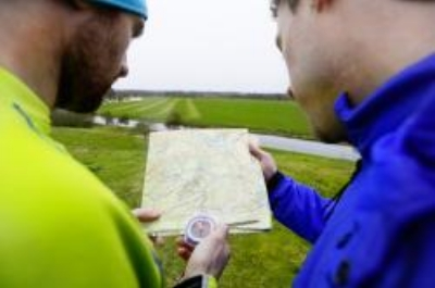 Compass not required, an Ordnance Survey map is useful though