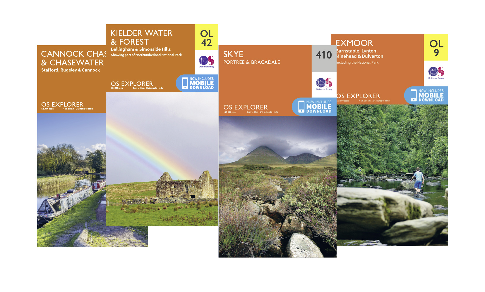 OS maps are invaluable and are packed with information and unmatched detail