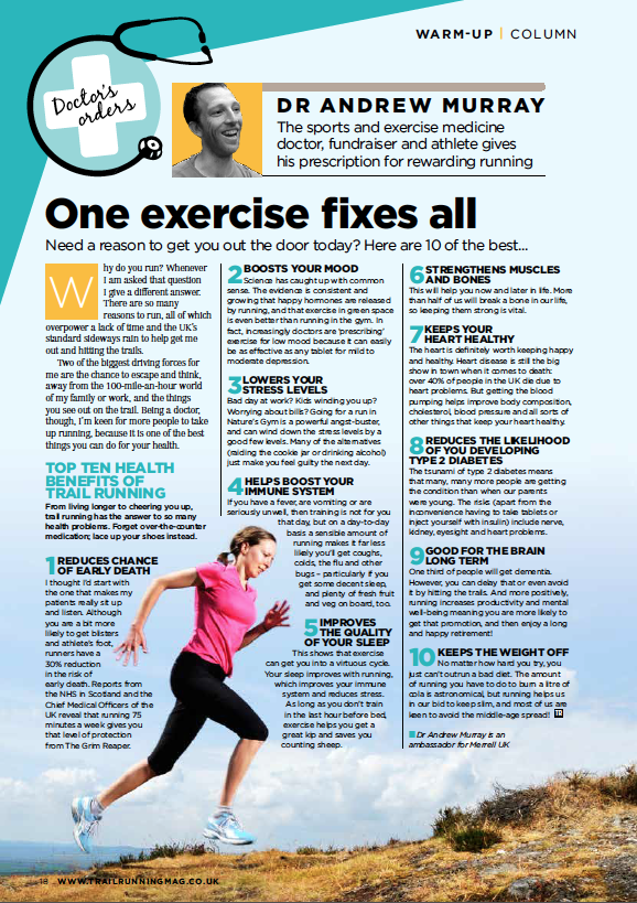 Get the June/July issue of Trail Running for more great advice - out May 10