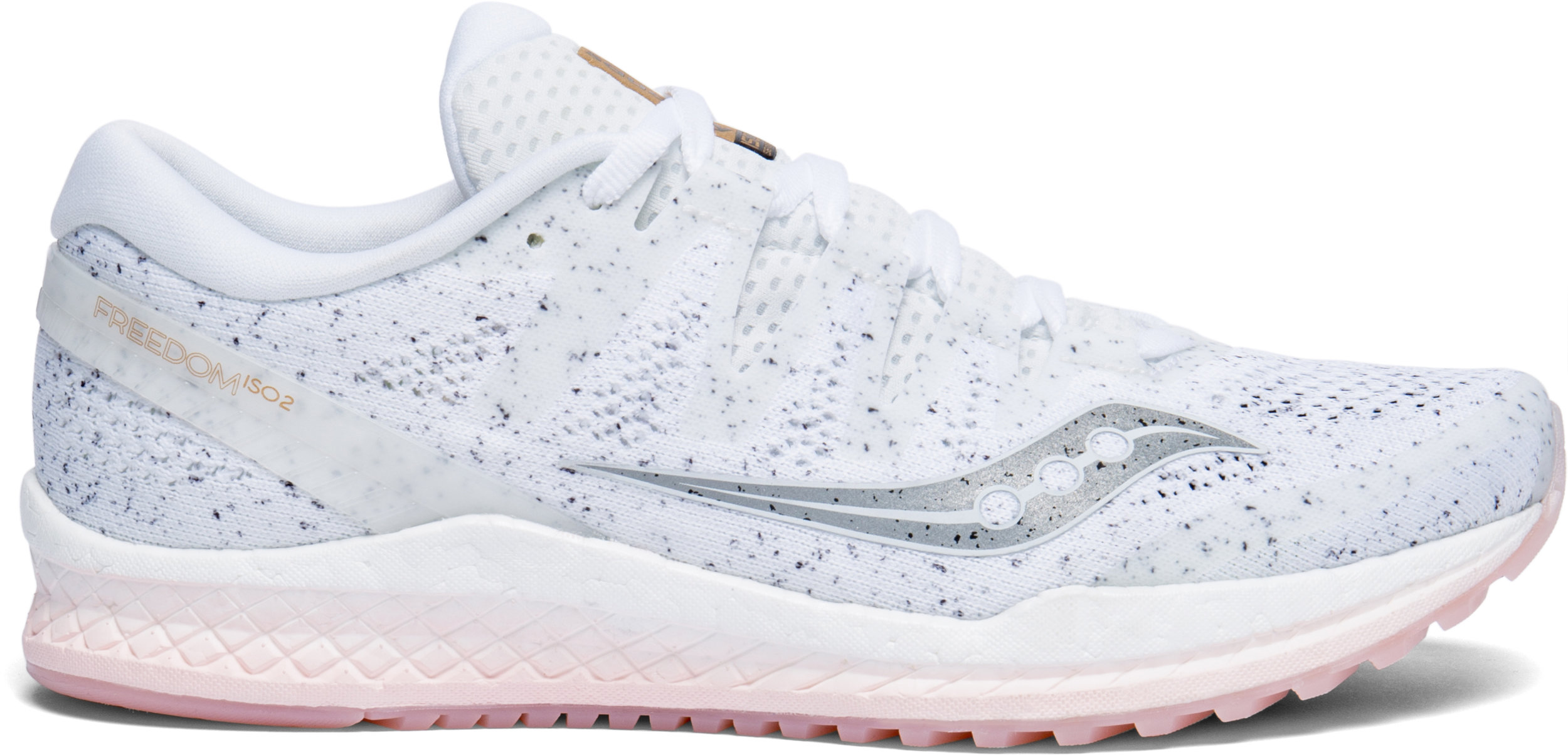 White on: The women's version of the Saucony Freedom