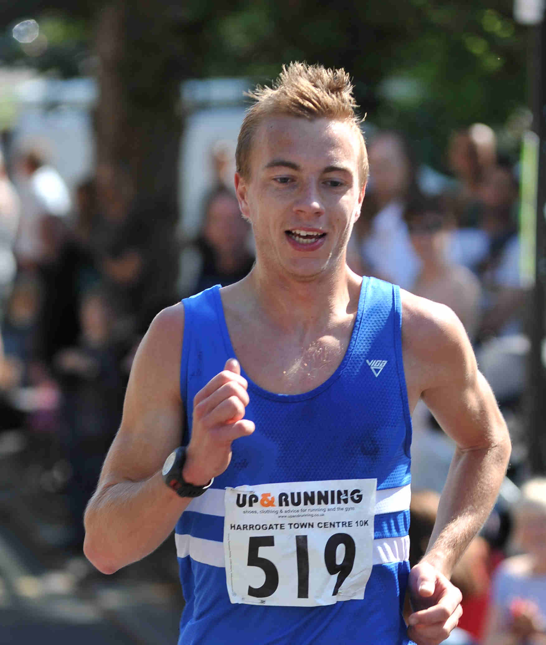 Nick Swinburn: back on the GB team for the first time since 2015