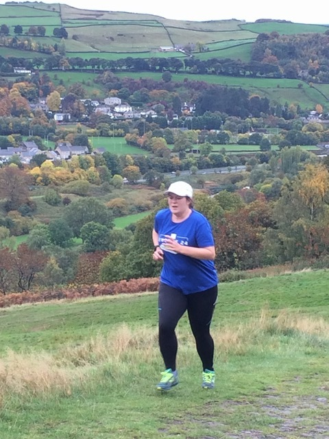 Jess Guth had previously tried running but the trails and #Run1000Miles campaign have enabled her to enjoy the activity fully
