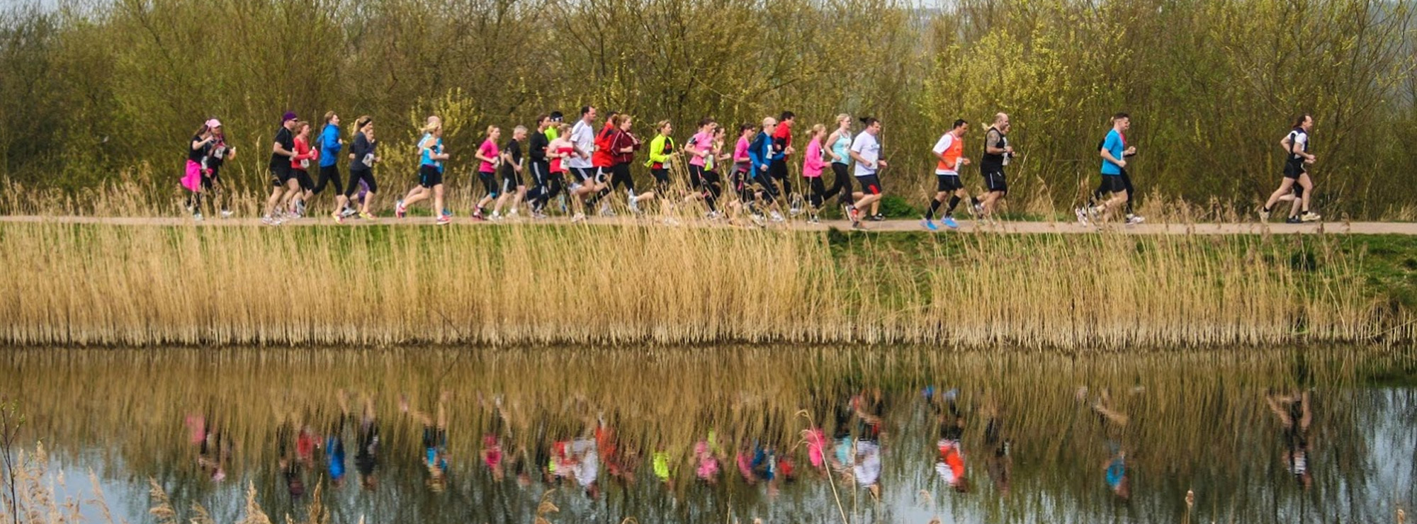 Stanwick Lakes, Northamptonshire - hosts a half-marathon on September 15