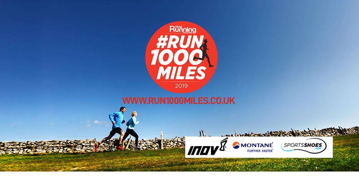 Sign up to #Run1000Miles at  run1000miles.co.uk