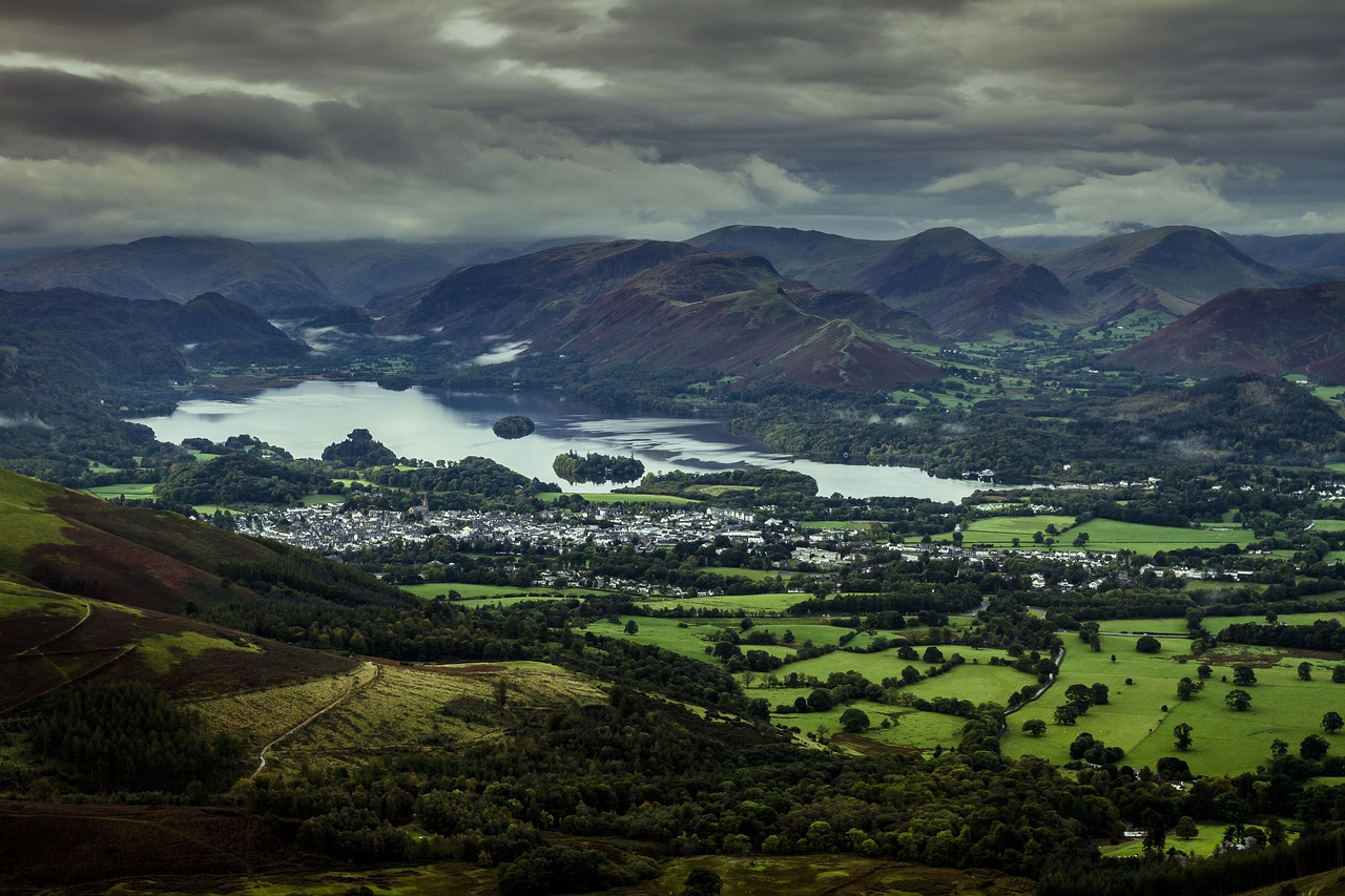 Keswick: offering plenty of choice of routes for the trail runner