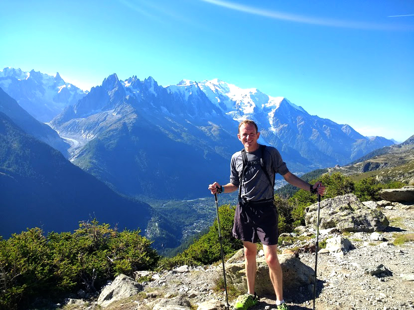 When not gaining 1km in height over a 3.8km distance, there was plenty of time to enjoy the views around Chamonix on the UCPA trail running camp