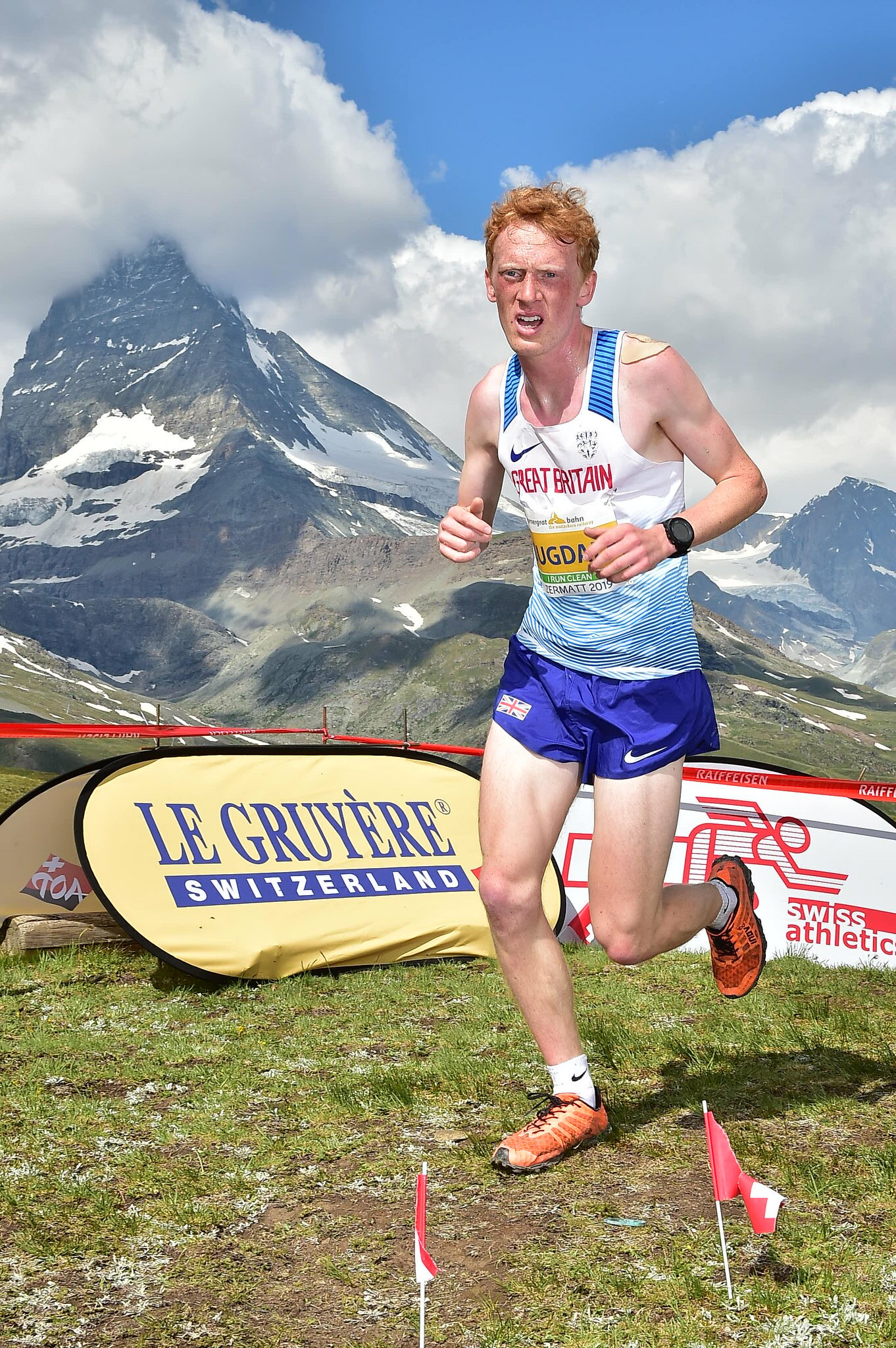 Joseph Dugdale: junior winner (Credit: European Mountain Running Championships 2019)