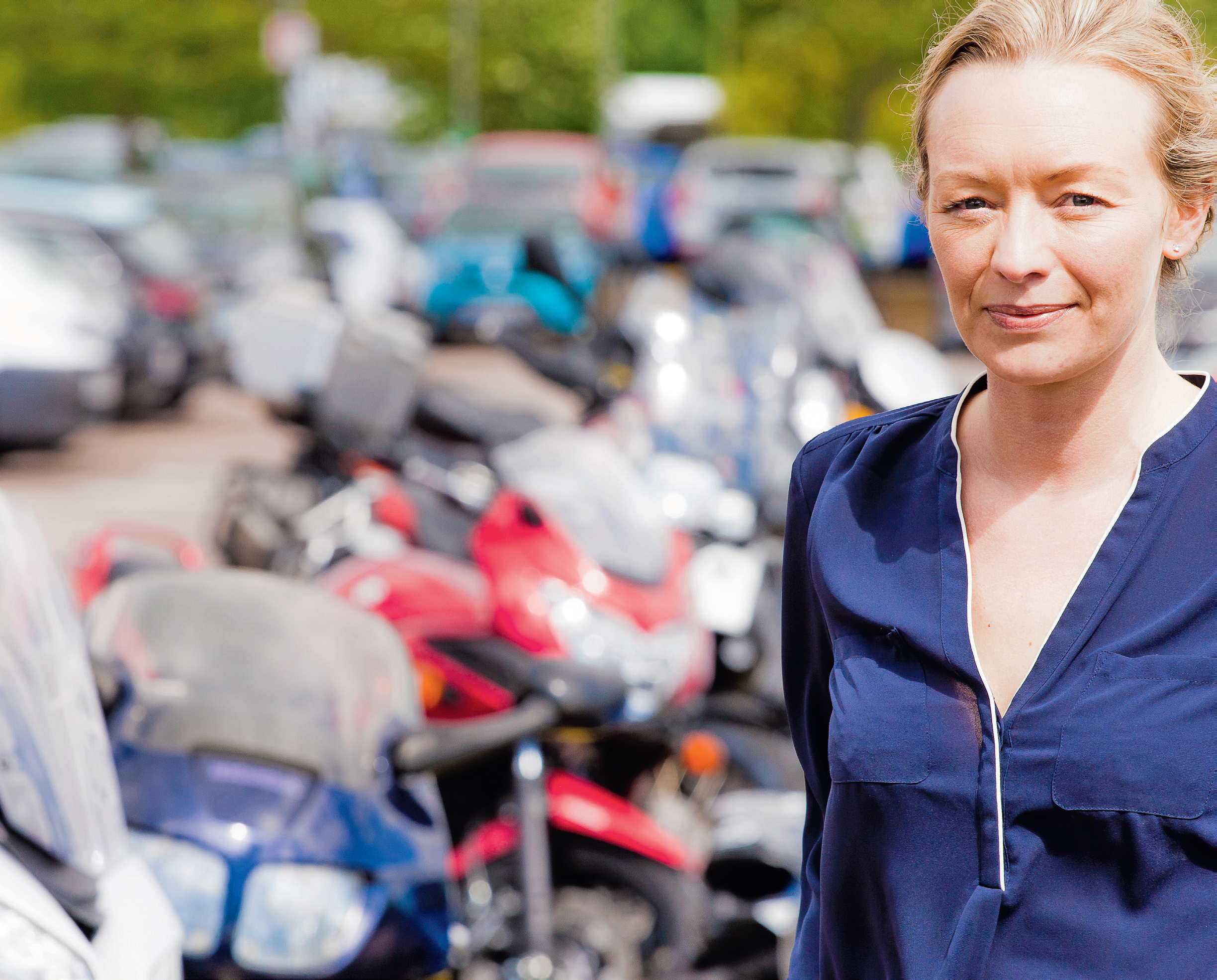 Sarah Norman: taking my motorcycling theory test