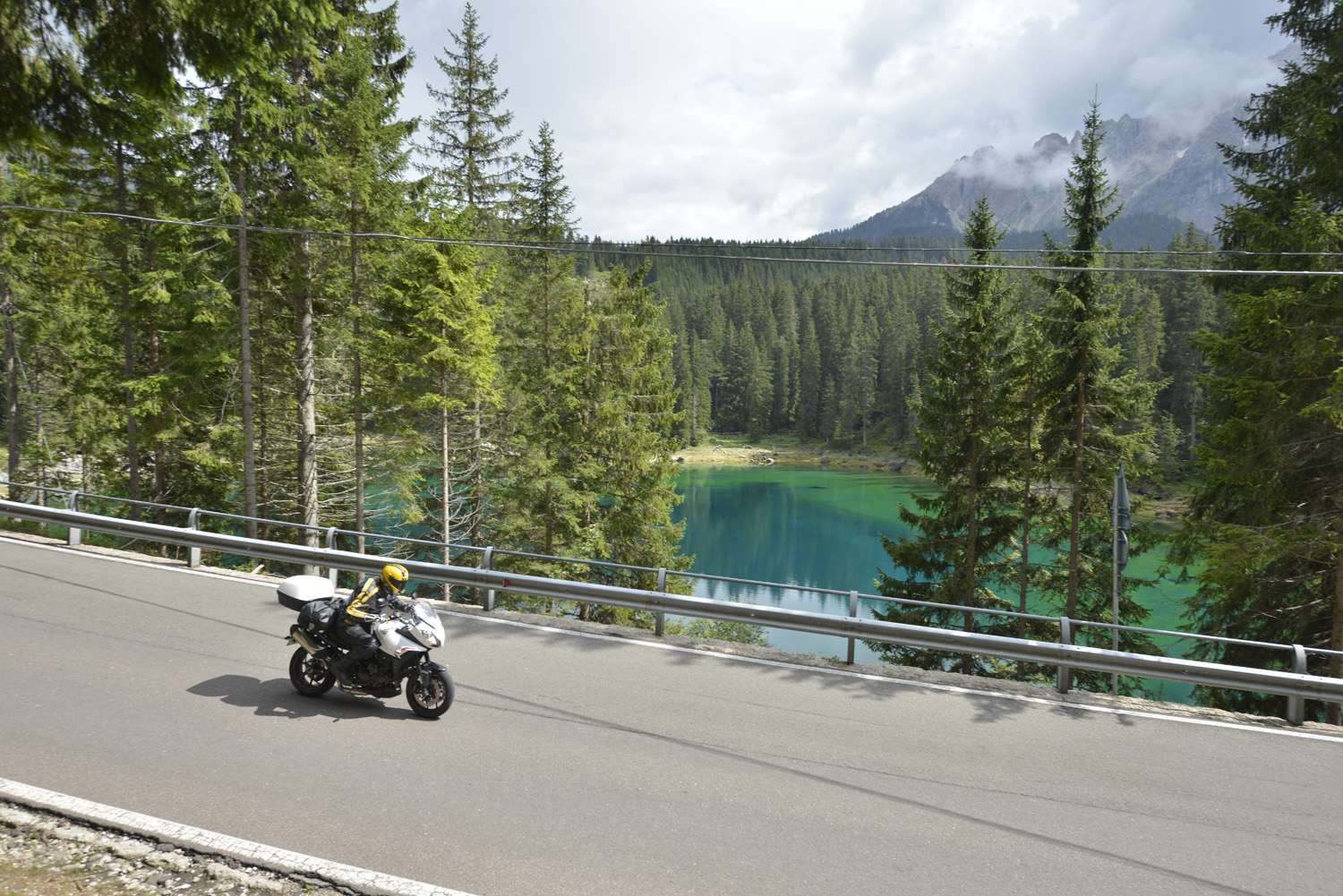 Don't miss the Karersee -or Lago di Carezza