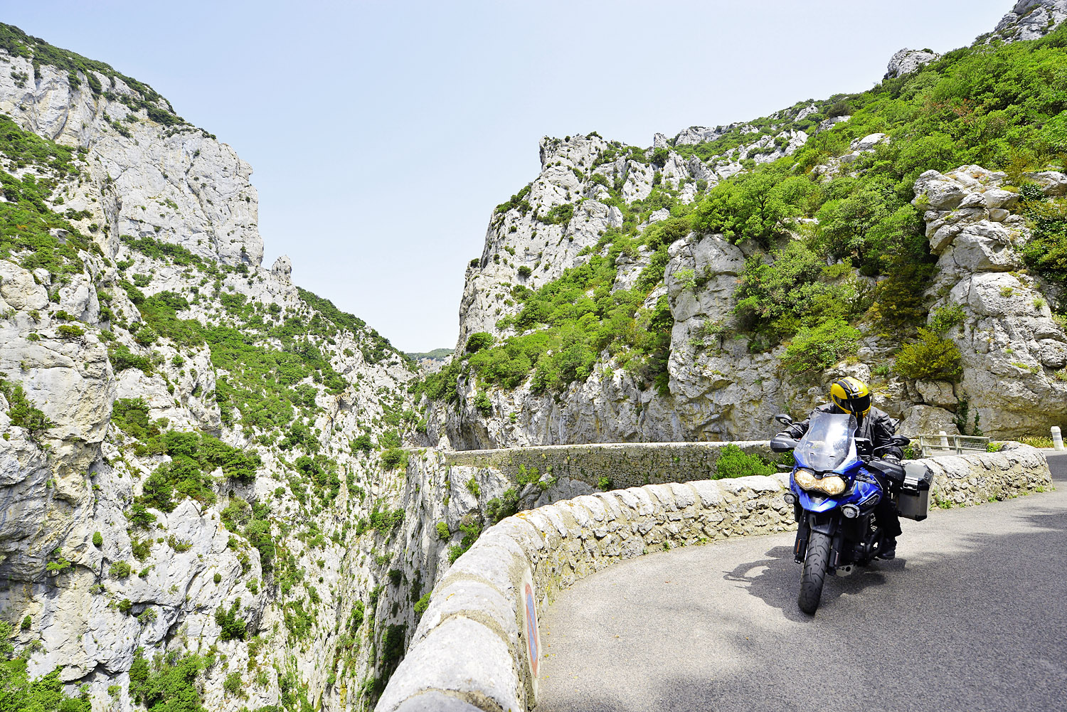 There's more to the Pyrenees than peaks and passes: this is the Gorges de Galamus