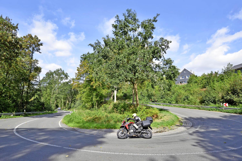 The roads around Leverkusen are ideal for a shorter blast