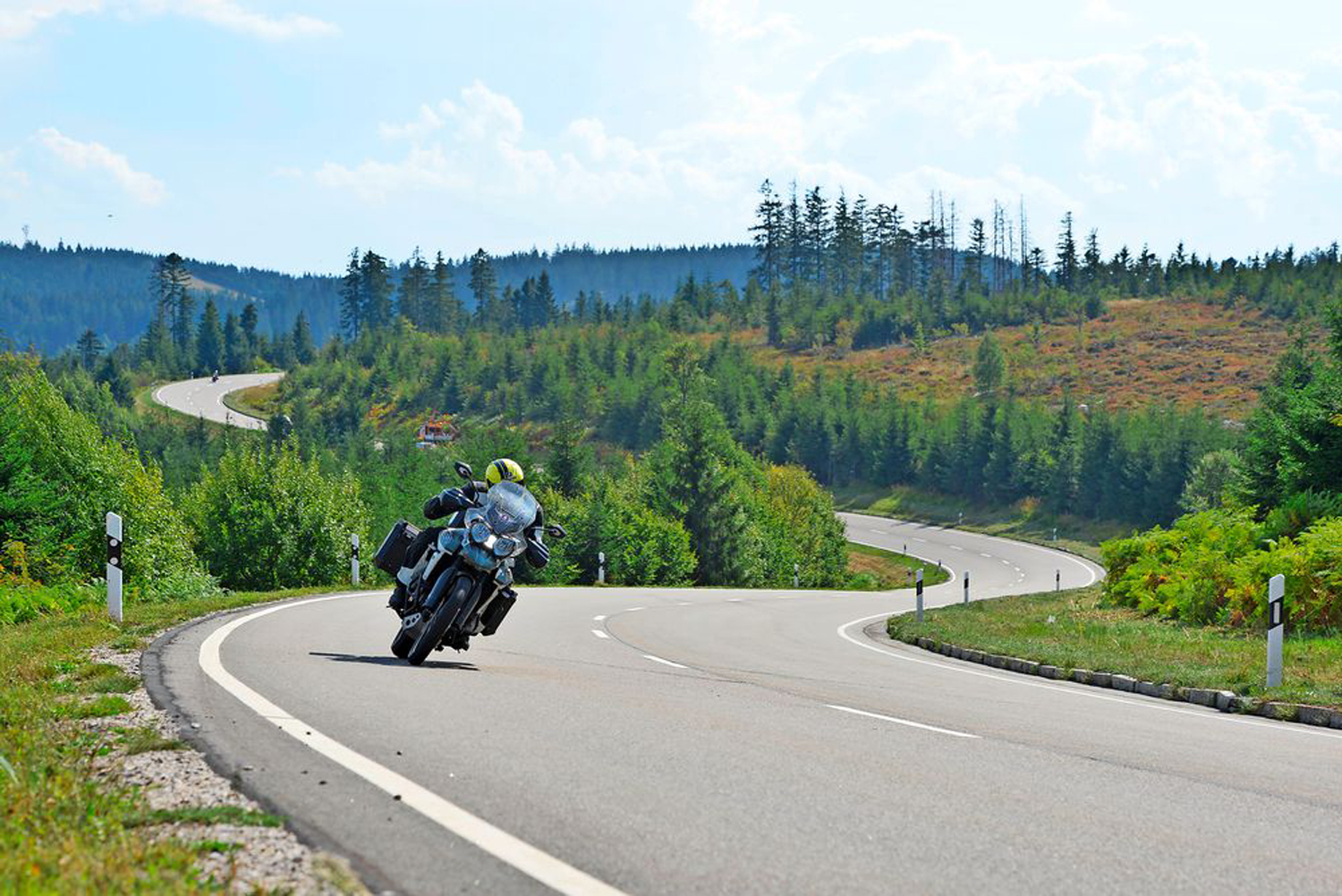 Roads of the Black Forest are popular for a reason. Just look at them...