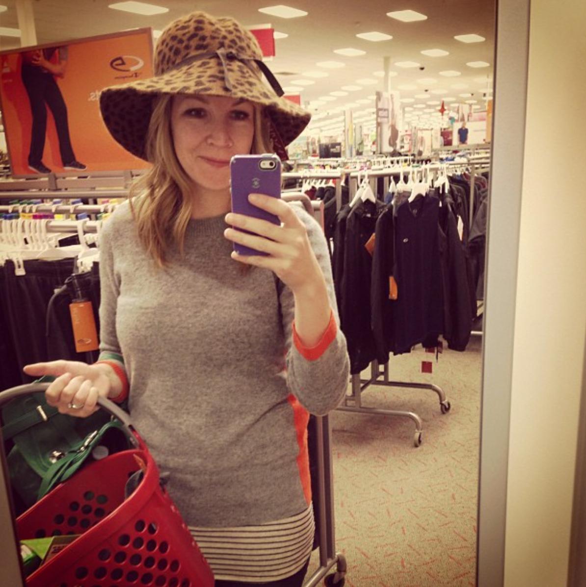 Leopard hat, FTW!