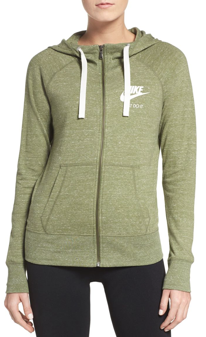 Nike Gym Zip Hoodie   ....and you    PROBABLY need the pants too   . Just saying.