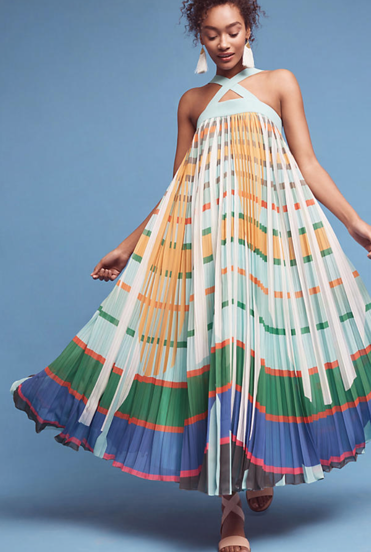 anthropologie dress   that wants to come live with you. And me.