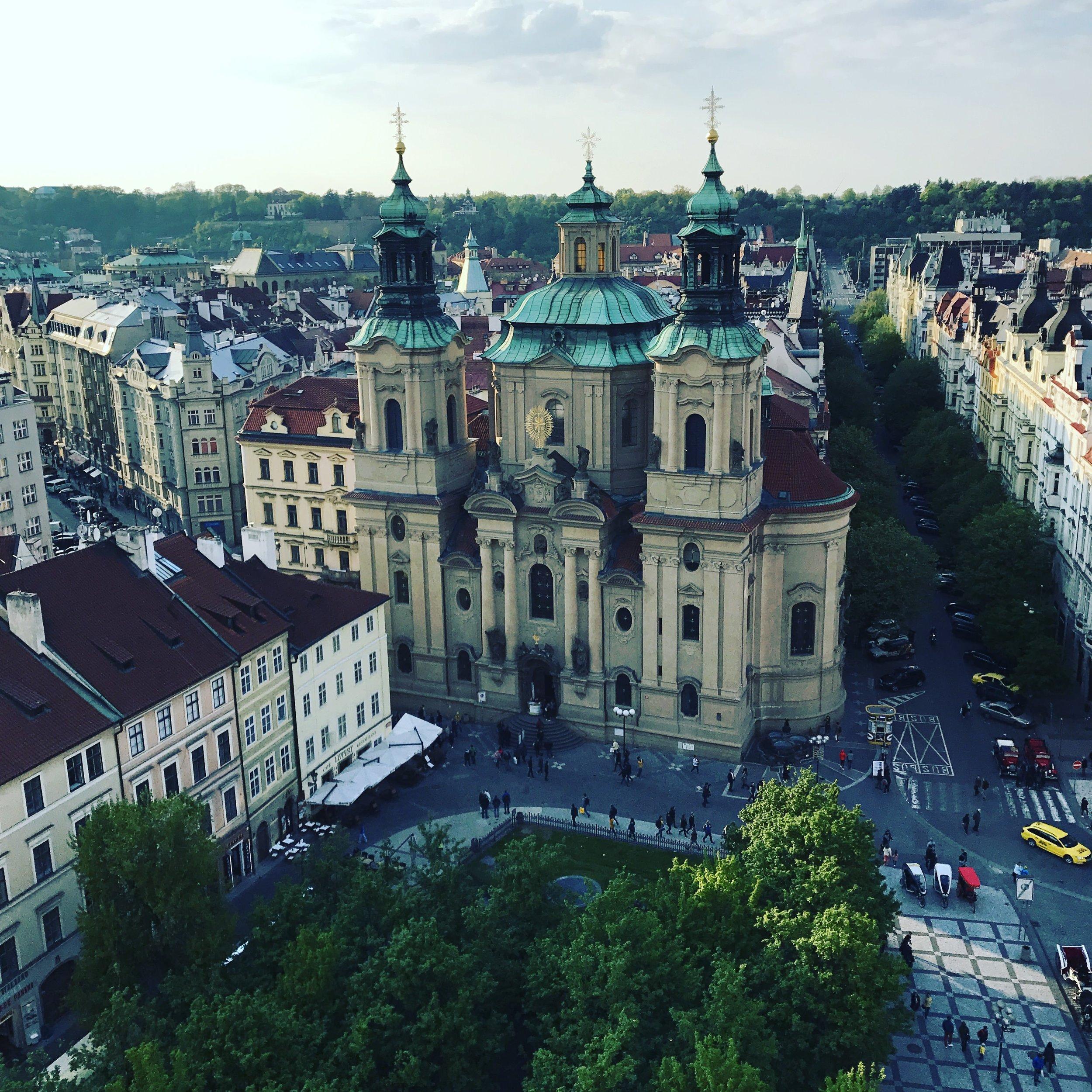 Prague. Holy Beautiful.
