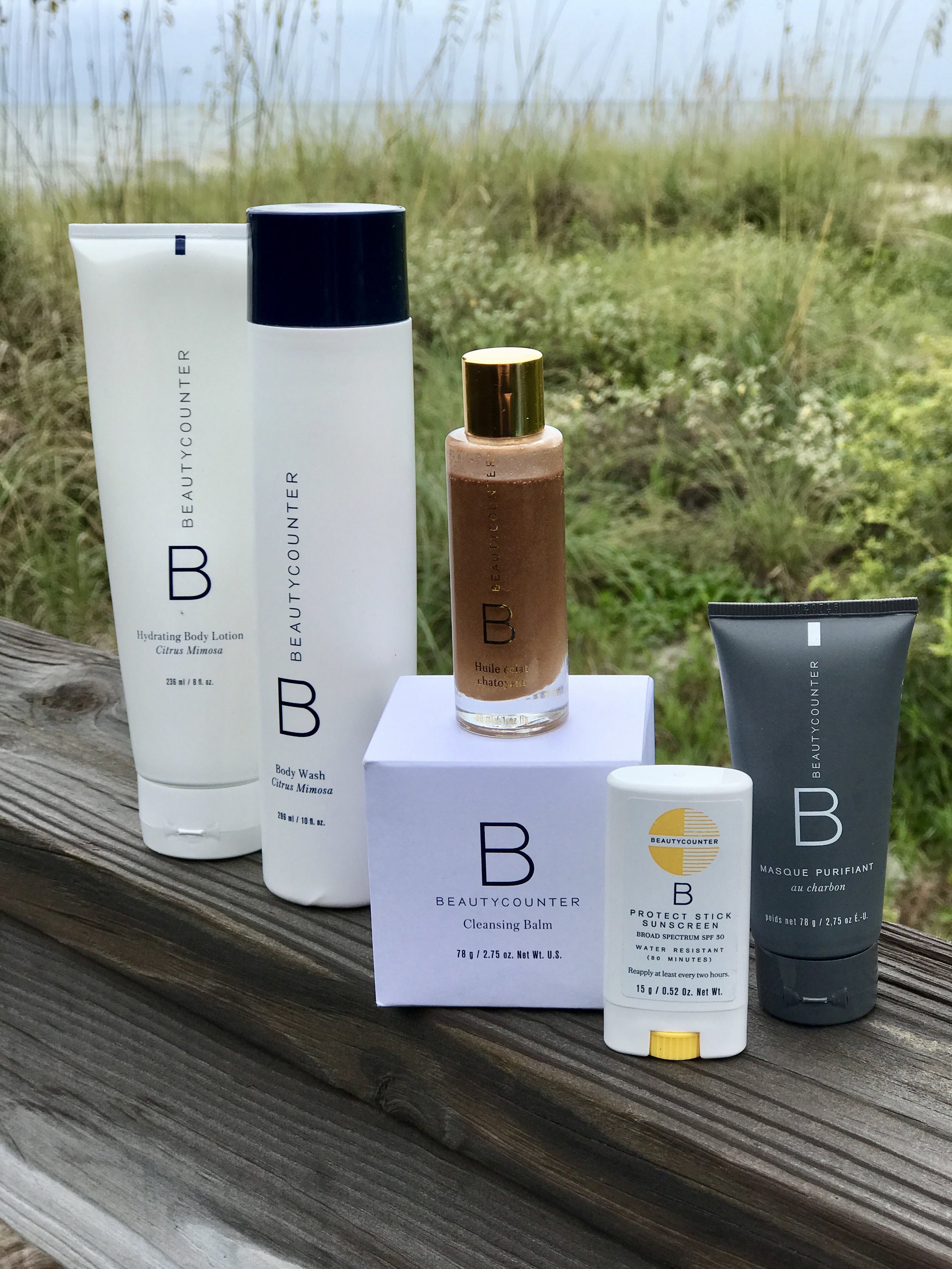 hydrating body lotion   |   body wash   |   glow shimmer oil   |   cleansing balm   |   sunscreen stick   |   charcoal mask