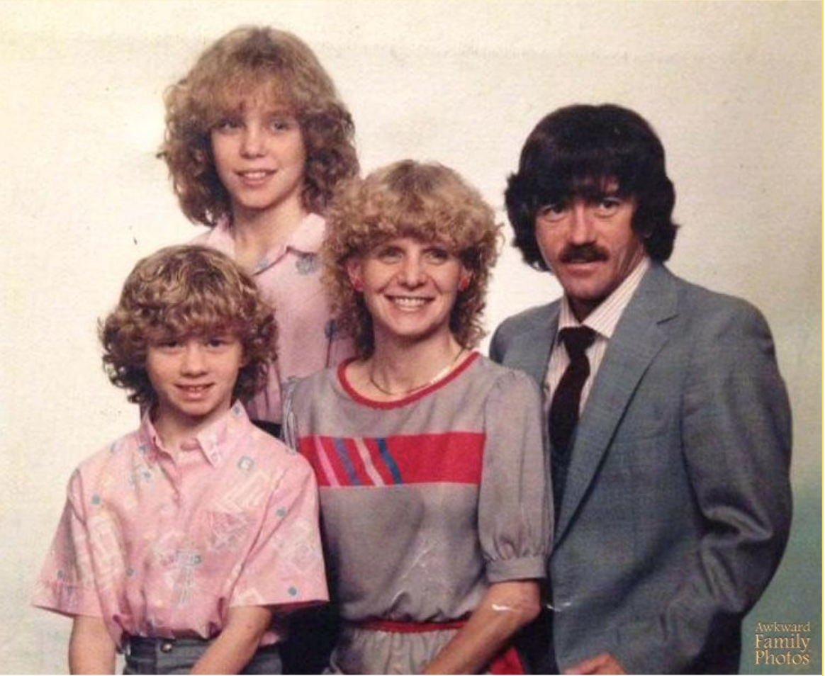 image via    Awkward Family Photos    (I'd suggest browsing this website at a time that you want to laugh awkwardly to yourself in public.)
