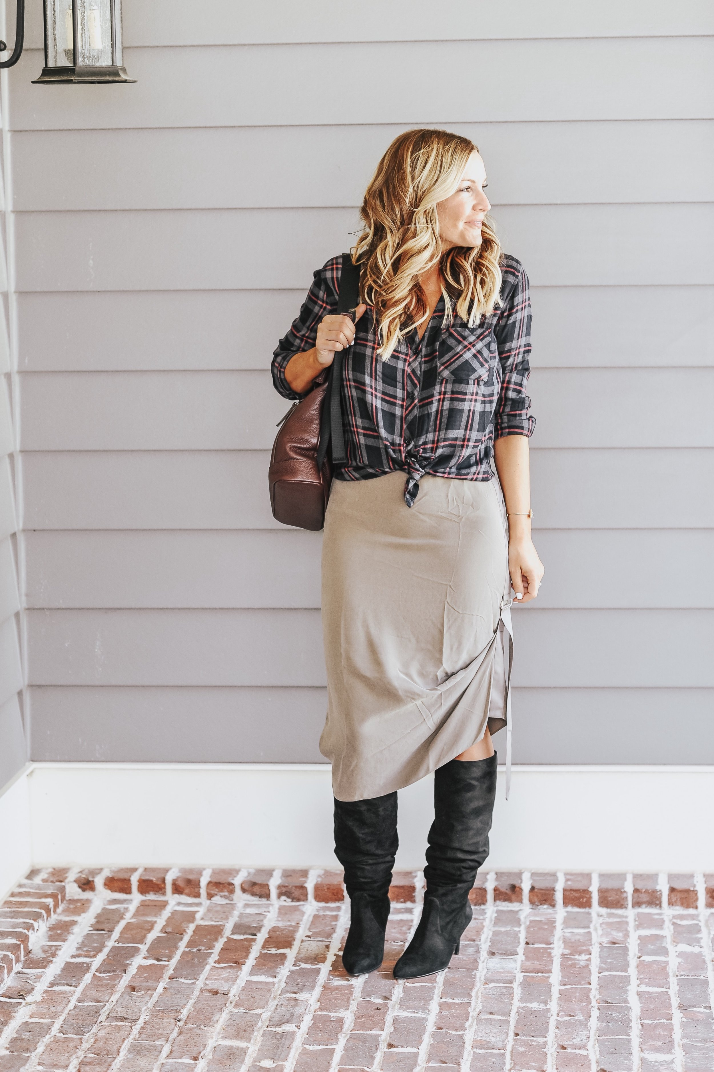 rails button down    (softest button down of all time, ON SALE) |    Stuart weitzman boots (on MAJOR sale-50% off!)