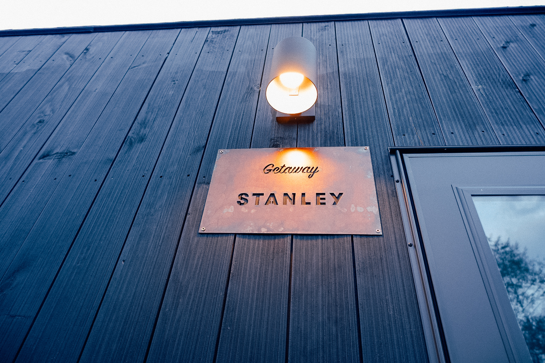 each cabin is uniquely named after grandparents of Getaway staff and guests.