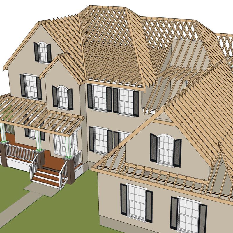 Framing Overview (3D design model)