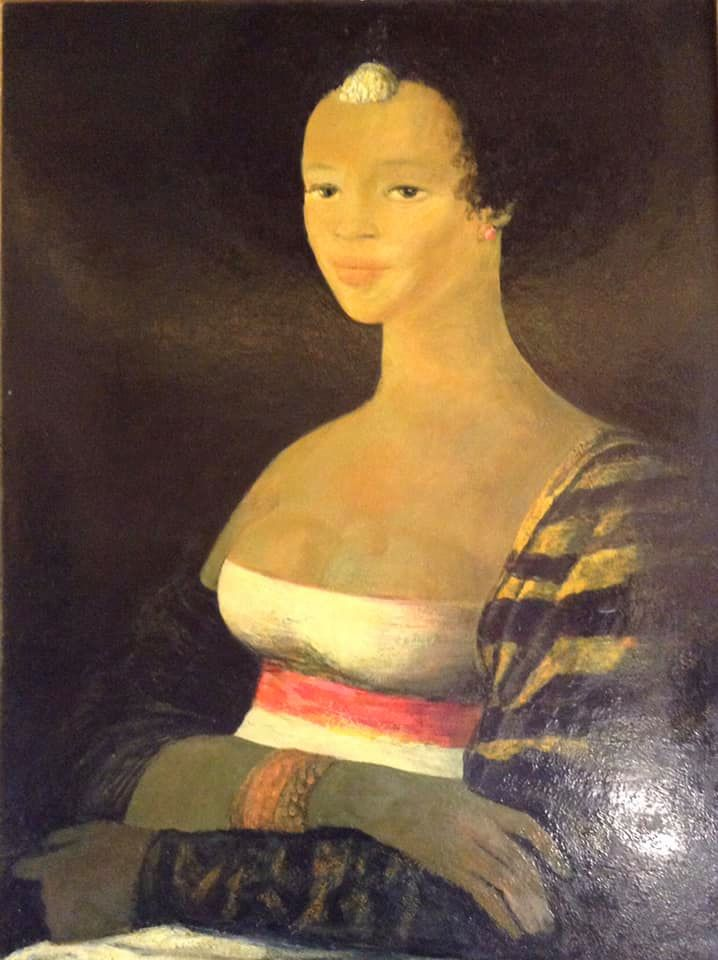 "African ""Mona Lisa"" - Salvatore Fiume"